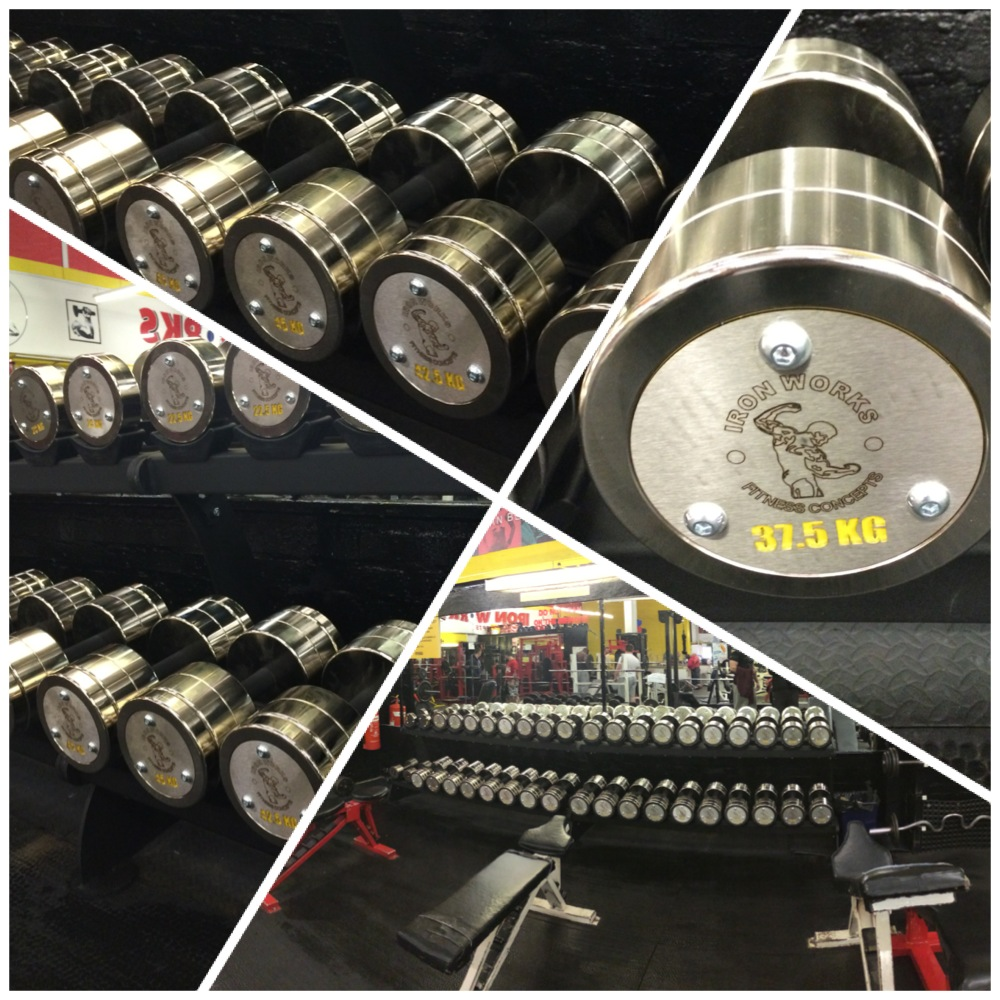 Come and try out the new Iron Works Watson Dumbbells