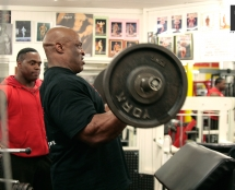 Ronnie Coleman at Iron Works Gym Birmingham