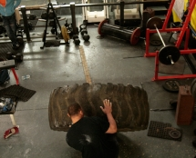 The Strongman Room at Iron Works
