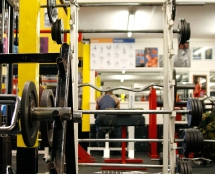 Barbells at Iron Works