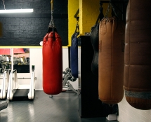 MMA Punch Bags at Iron Works