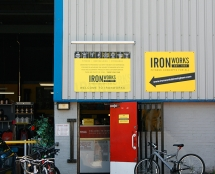 Entrance to Iron Works Birmingham