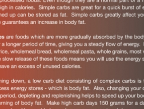 CARBS – A SIMPLE GUIDE