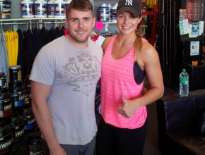 Hollyoaks Star Gemma Atkinson visits Ironworks