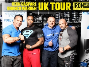 Darren Young and Shaun Blackwood with Rich Gaspari and Branch Warren