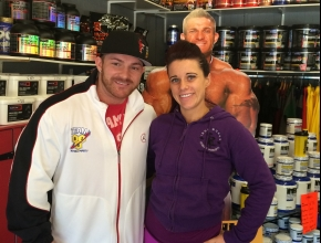 Alexandra McMillan and Flex Lewis